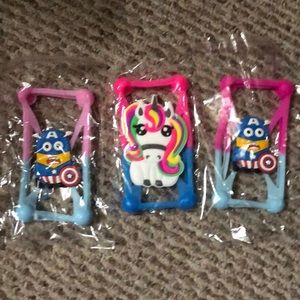 Silicone phone covers they fit any phone lot of 3
